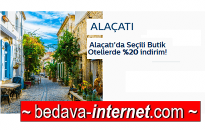Türk Telekom Alaçatı Otel indirim kodu