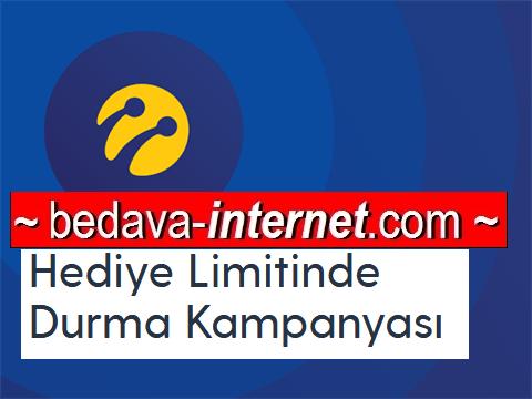 Turkcell Ücretsiz Limitinde Durma Kampanyası