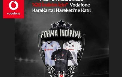 Vodafone Beşiktaş Ek 2 GB Paketi