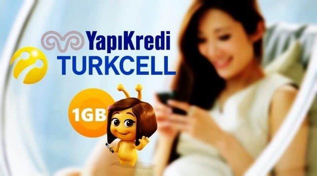 Yapı Kredi 1 GB İnternet