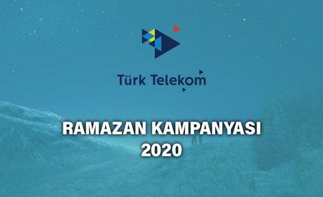 Türk Telekom 2020 Ramazan Bedava İnternet Kampanyası