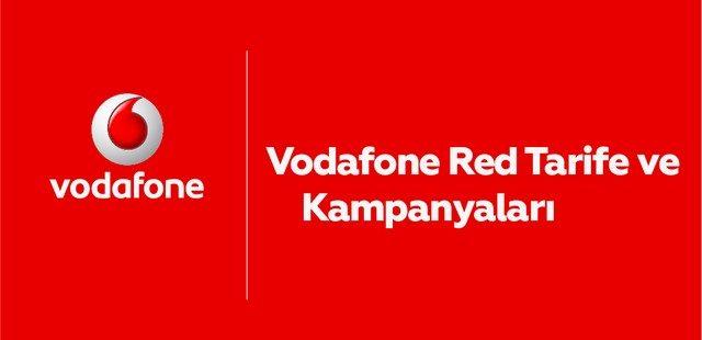 vodafone red kampanyası