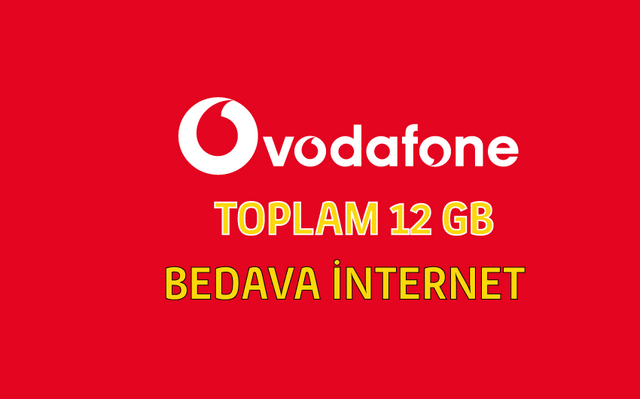 Vodafone İle 12 GB