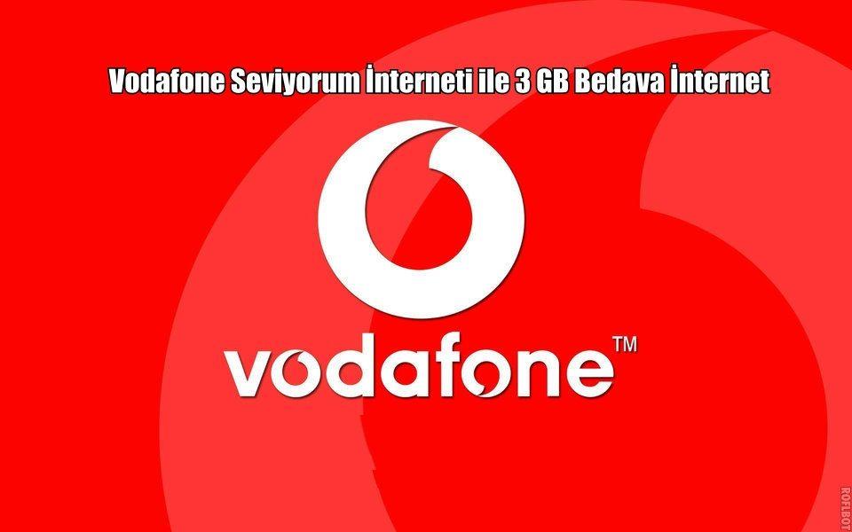 Vodafone Seviyorum İnterneti Testi İle Hediye İnternet