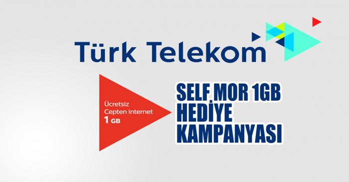 Türk Telekom Mor Hediye 1 GB İnternet Kampanyası